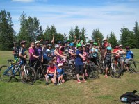 Mountain Bike Club Spring 2015 with Lisa Ludwig